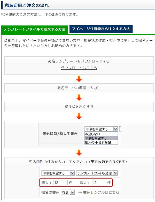 aisatsujyo-address-printing-services