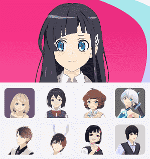 showroom-v-characters